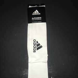 NEW White Adidas Sports Headband